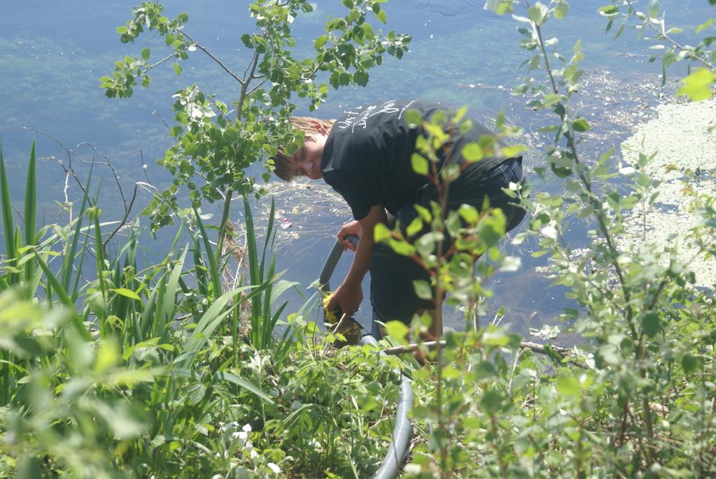 ...da wird halt Rheinwasser gepumpt.