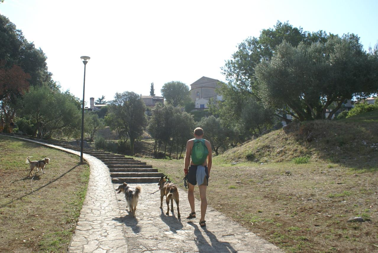 Morgendlicher Spaziergang nach Vrsar