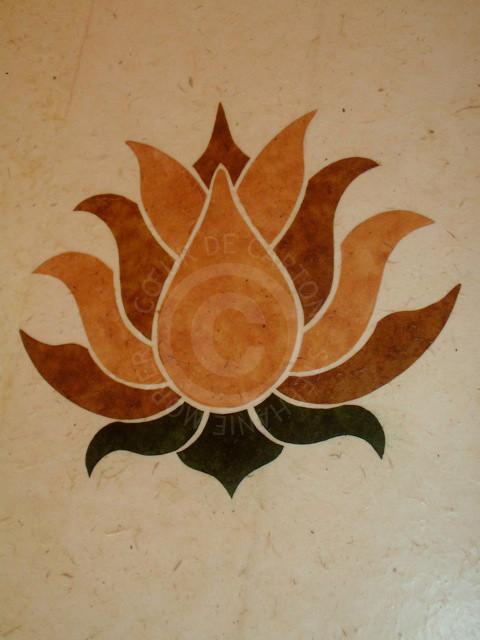 Décor fleur de Lotus