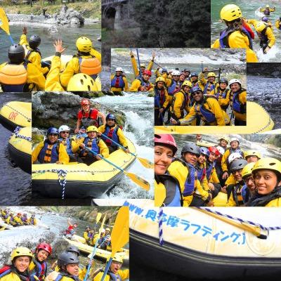 Okutama_rafting in Tokyo