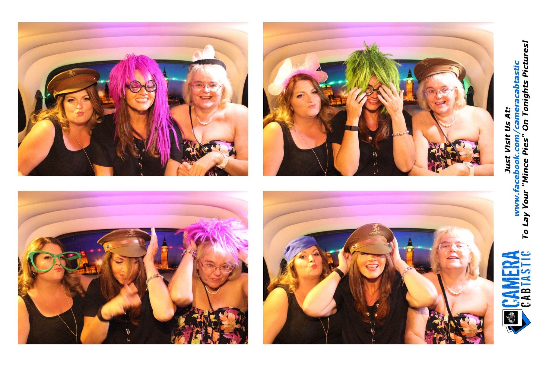 Taxi Photo Booth At LB1 Bar Crawley - Cabtastic Photo Booths