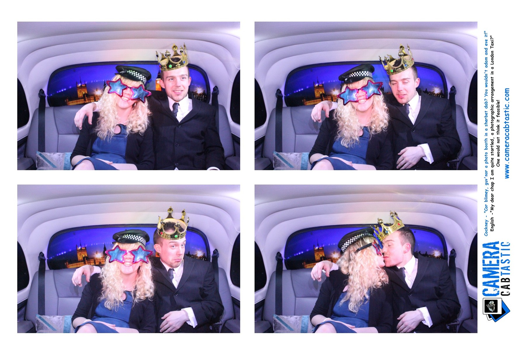 Congratulations Mr Amp Mrs Marshall Cabtastic Photo Booths