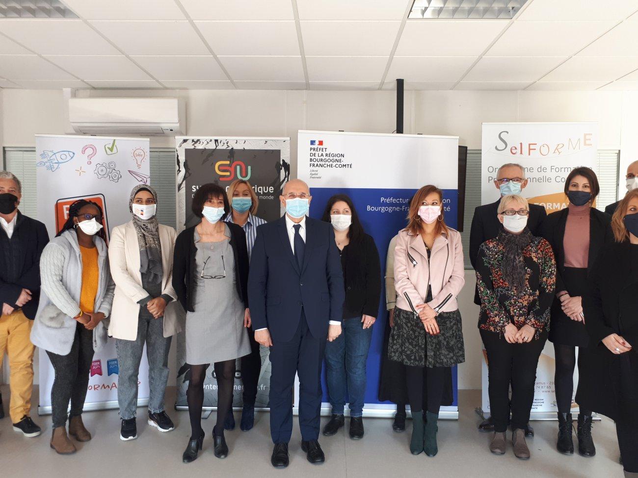 Lancement à Dijon du dispositif «Objectif emploi, femmes et numérique»