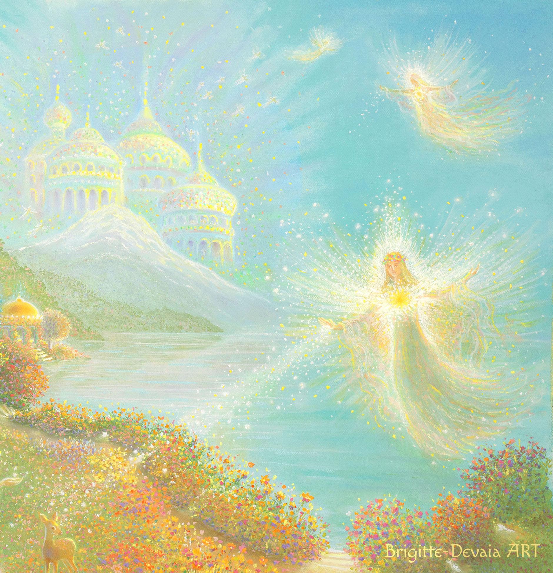 Das strahlende Licht der Engelherzen