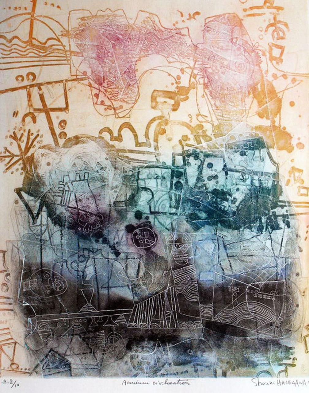""""""" Ancienne civilisation"""" gravure"""