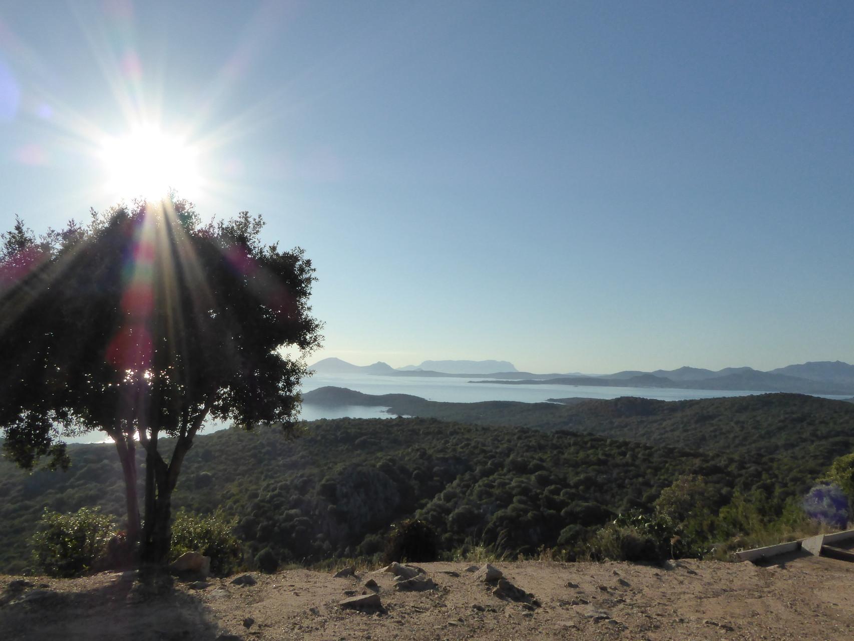 Schon der Weg vom Flughafen Olbia in die Hügel hinter Porto Cervo ist traumhaft. Hach...