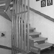 Treppe vor der Renovierung - Bucher Treppen vorher/nachher