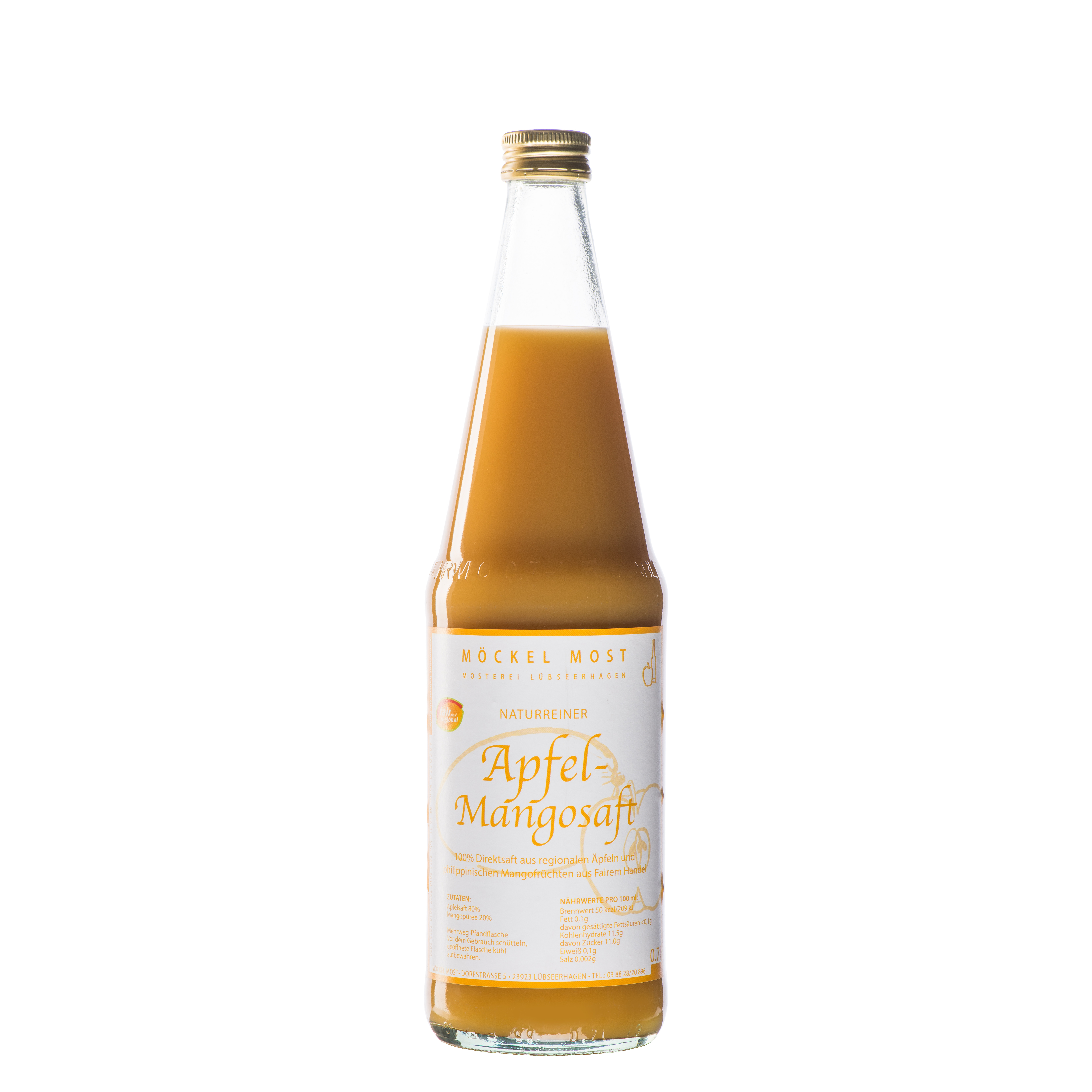 Möckel Most Apfelsaft Mangosaft Saft Gourmetsaft