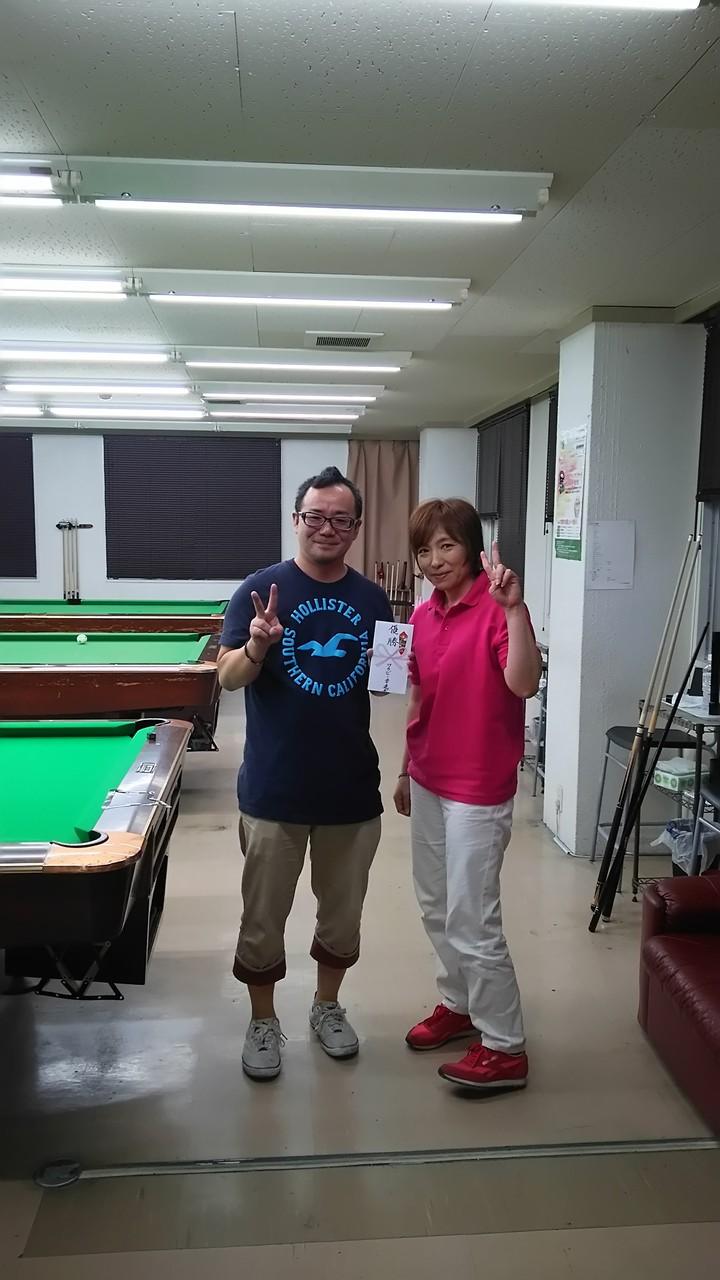 今回2回目優勝の永藤君でーす!気合入ってます!十六夜も優勝っす!