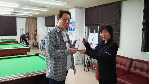 変な顔の永藤君に接戦の末ファイナリスト準優勝、丸野さん