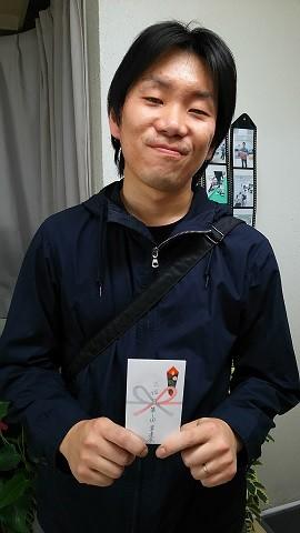 3位タイの生田君