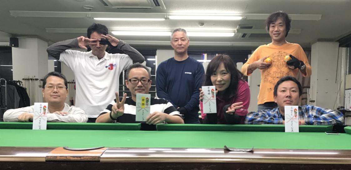 (前列左から)森本さん、永藤君、土屋、ペーさん、(後列) 松木さん、田中さん、エロ吉田さん!