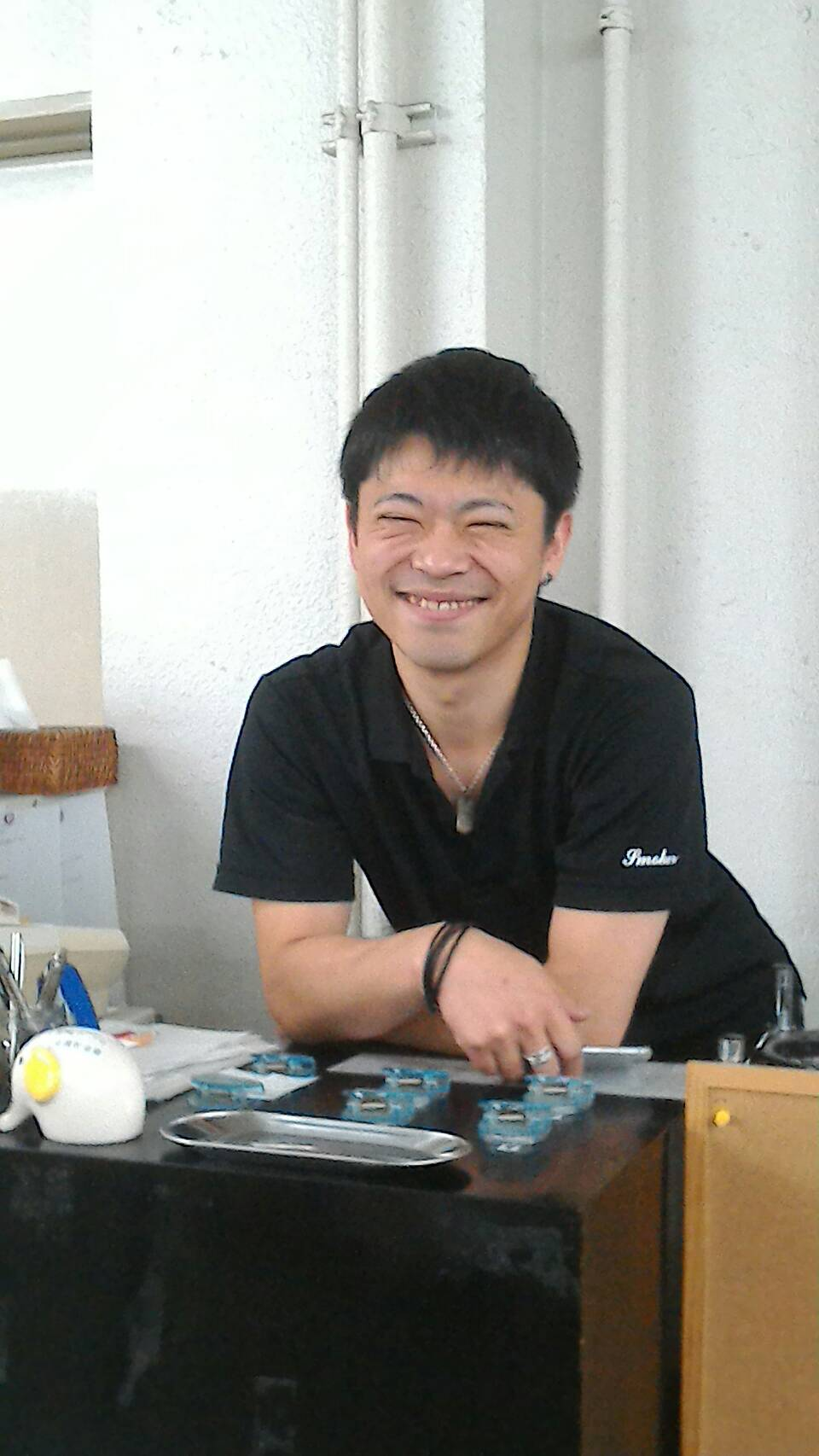 「ゔぉく」でおなじみ笑顔が最高トッティ、戸田君 (byつっちー)
