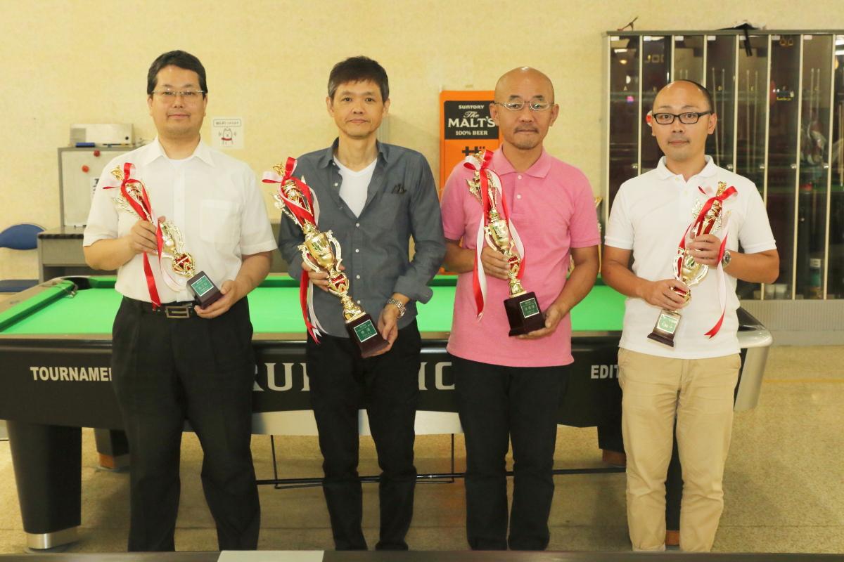 森本さん(一番左)、3位タイおめでとうございます!