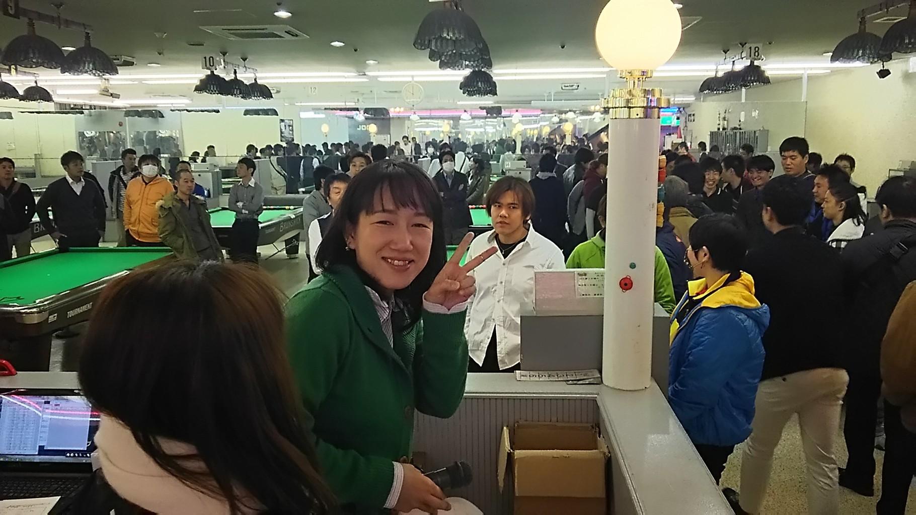 運営席側からパチリ!ピースされてる方は、京都の森田さん。分かりやすい、テキパキとした運営されてましたね。お疲れさまでした。