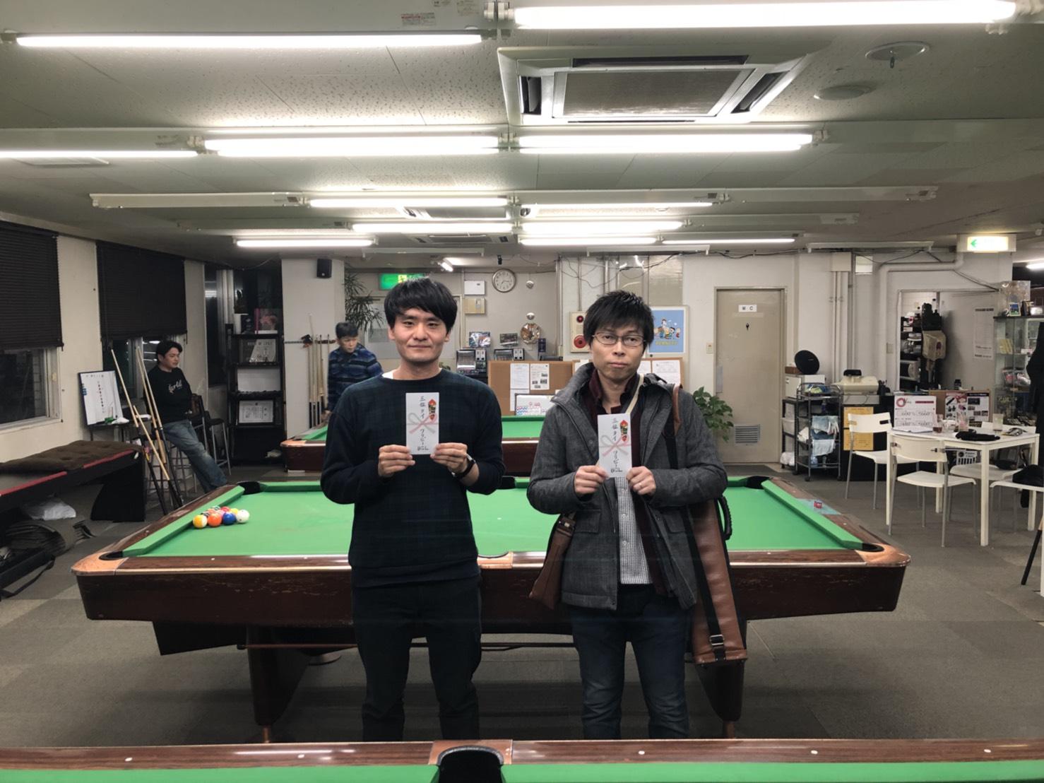 3位タイ 竹原氏と阪本さん