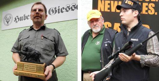 Dei Gewinner des Vergleichssschießens 2013