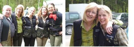 Die Damen des Jagdvereins Hubertus
