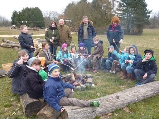 Waldtag für die Kinder