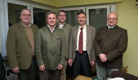 Maarten Fijnaut (Mitte) ist neues Vorstandsmitglied im Bezirk Darmstadt. Foto: Markus Stifter