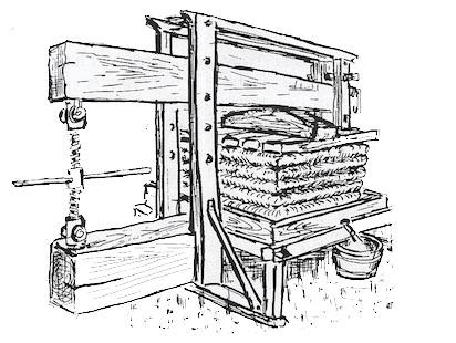 """Illustration extraite de l'ouvrage """"Des pierres qui murmurent"""""""