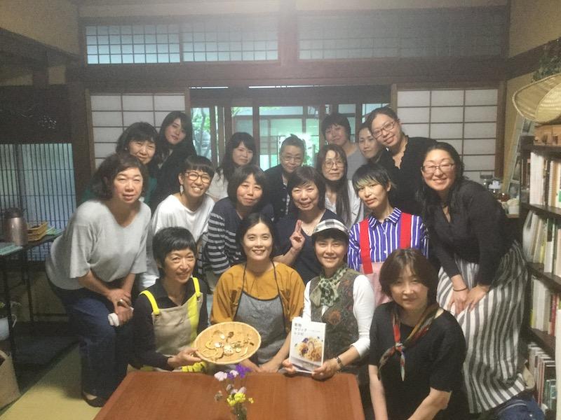 6月8日、京都のキッチンみのりさんにて