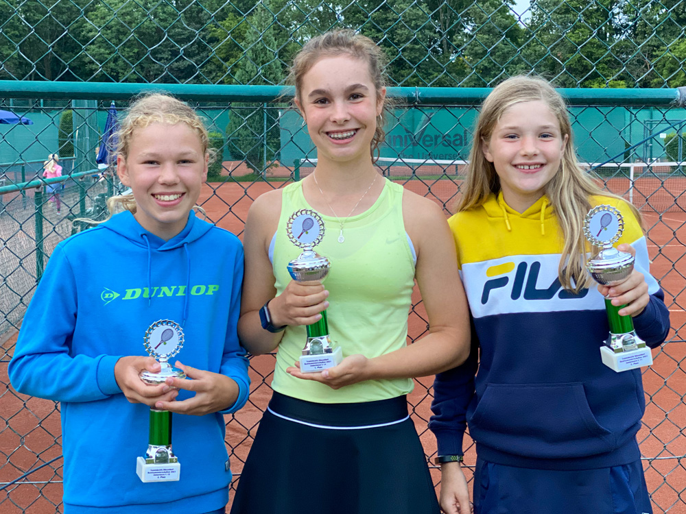 Erfolgreiche DSC-Mädchen bei den Jugend-Bezirksmeisterschaften 2021 – Leni Eichner gewinnt WU14