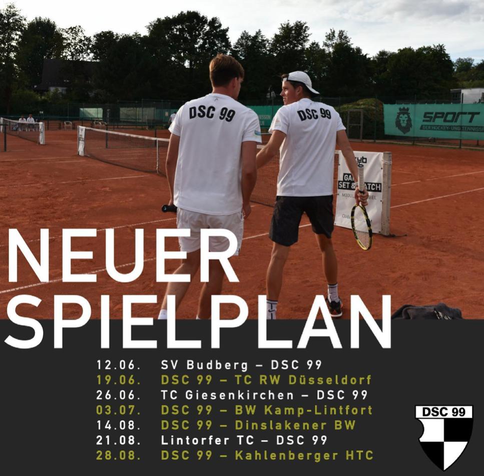 Endlich: 1. Tennisherren starten am Samstag in die Saison