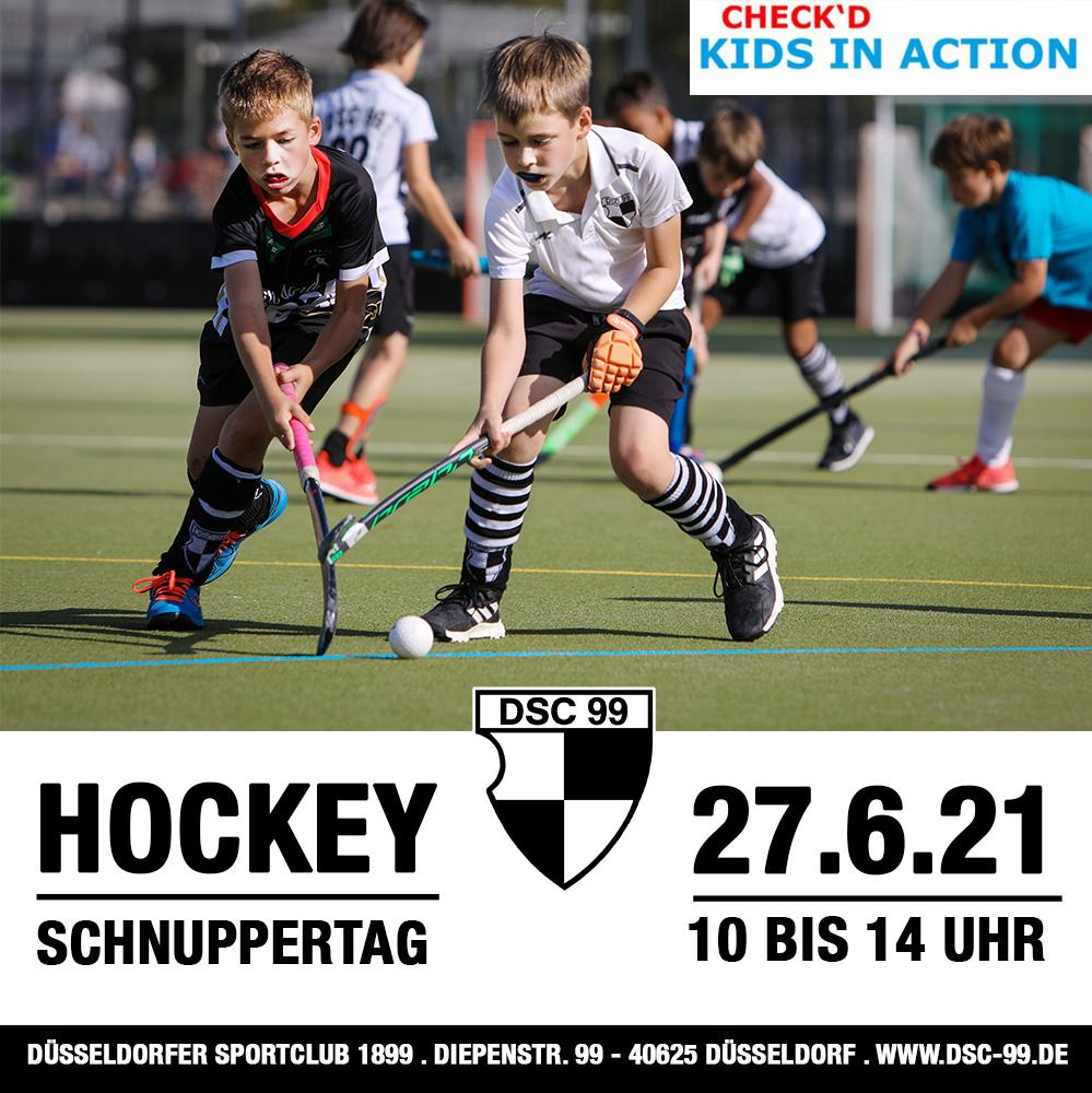 Kids in Action special: Hockeyschnuppern für Grundschulkinder