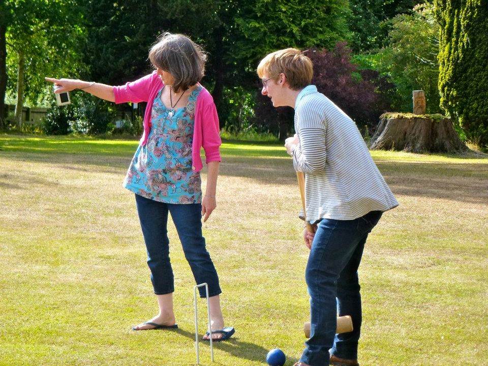 I took my duty of explaining the rules of croquet extremely seriously.
