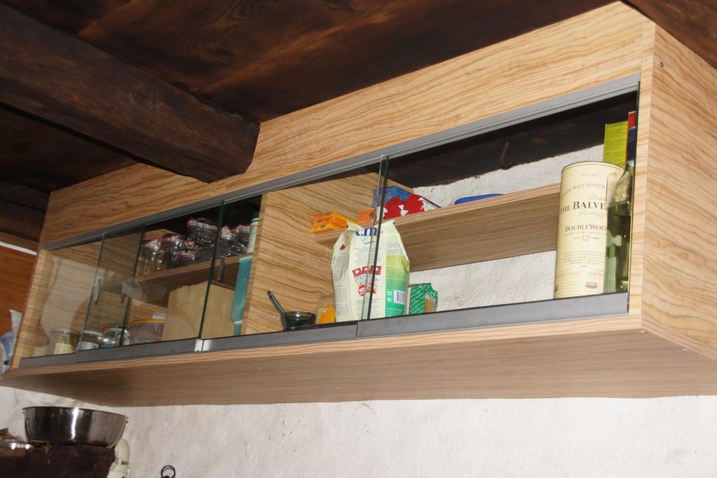 Spezialanfertigung Ausbau Rustico, Material: Tanne