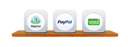 Xero add-ons paypal, vend