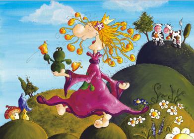 Prinzessin Wunderbar Poster