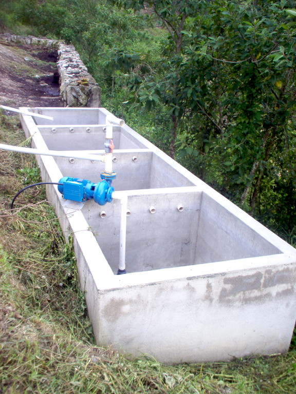 Waschanlage der Naßverarbeitung von COMUCAP