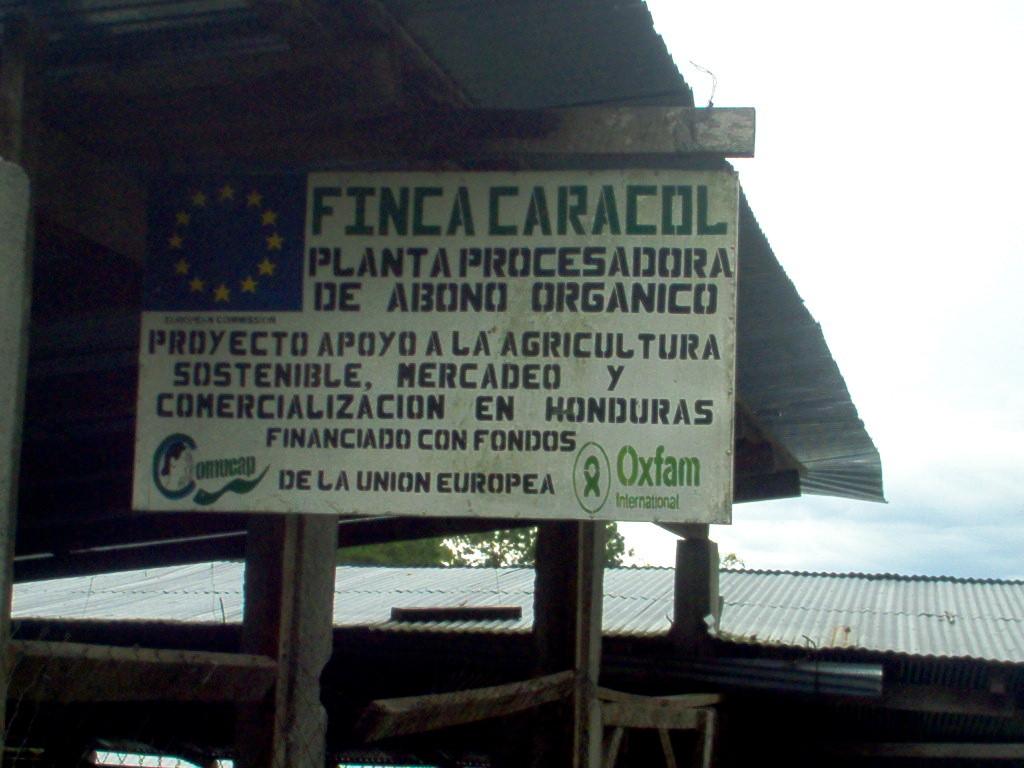 Fabrik von COMUCAP zur Herstellung organischen Düngers (mit EU-Geldern)