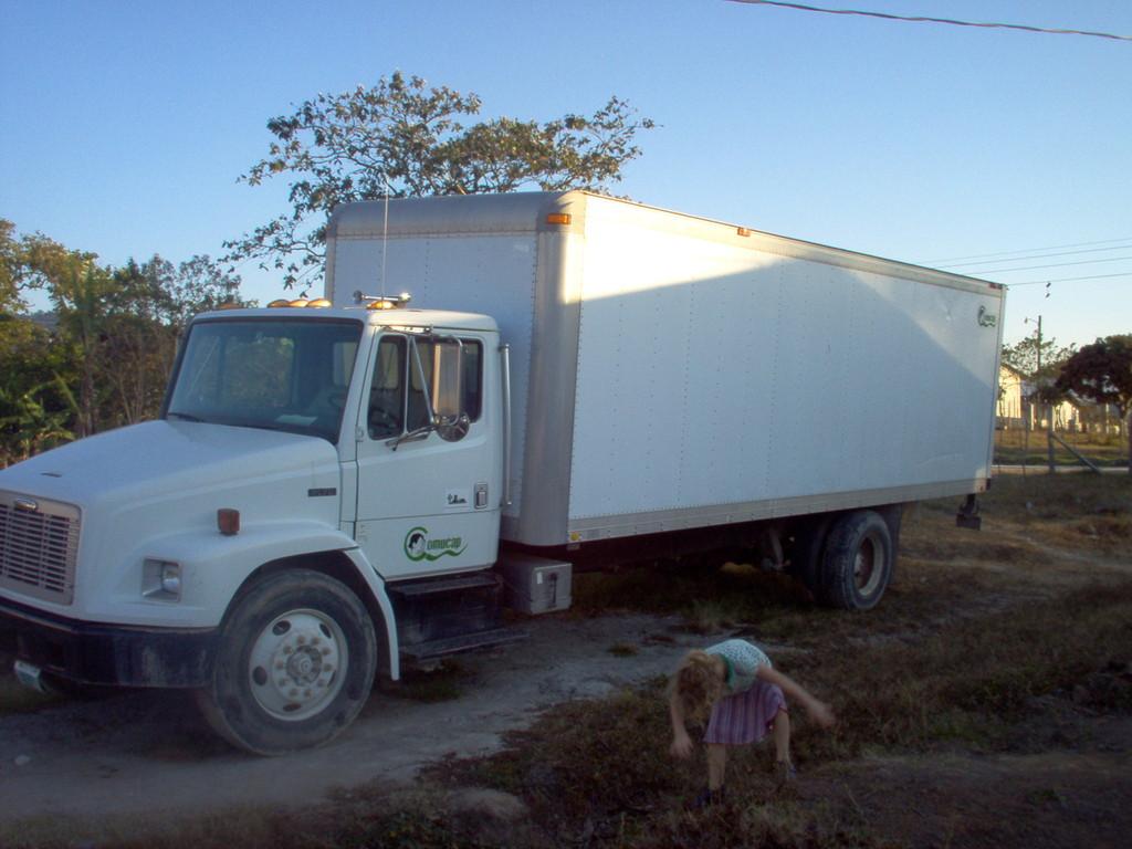 LKW zum Kaffeetransport von COMUCAP