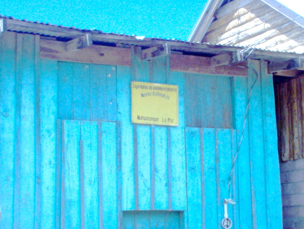 Sparkooperative Neue Hoffnung, Nahuaterique, Department La Paz
