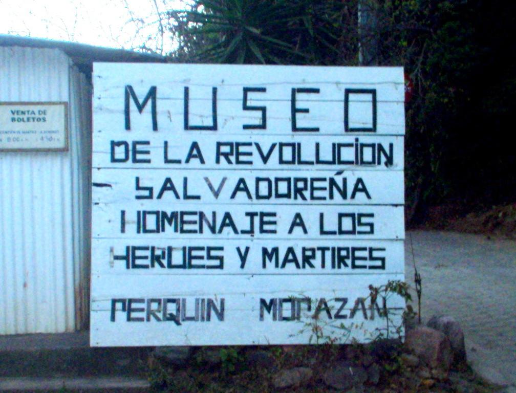 Museum der salvadorenischen Revolution, Perquin