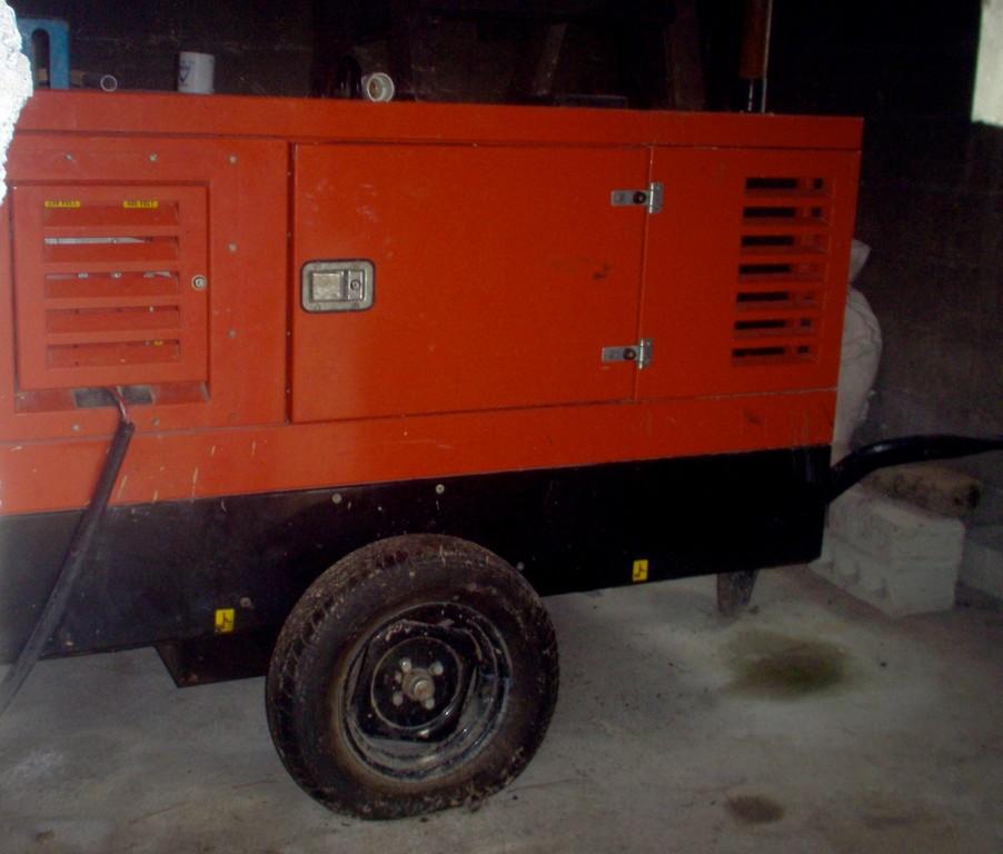 Generator der Naßverarbeitungsanlage von COMUCAP