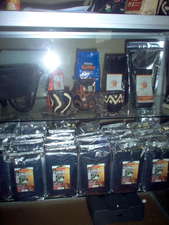 in Marcala gerösteter COMUCAP-Kaffee