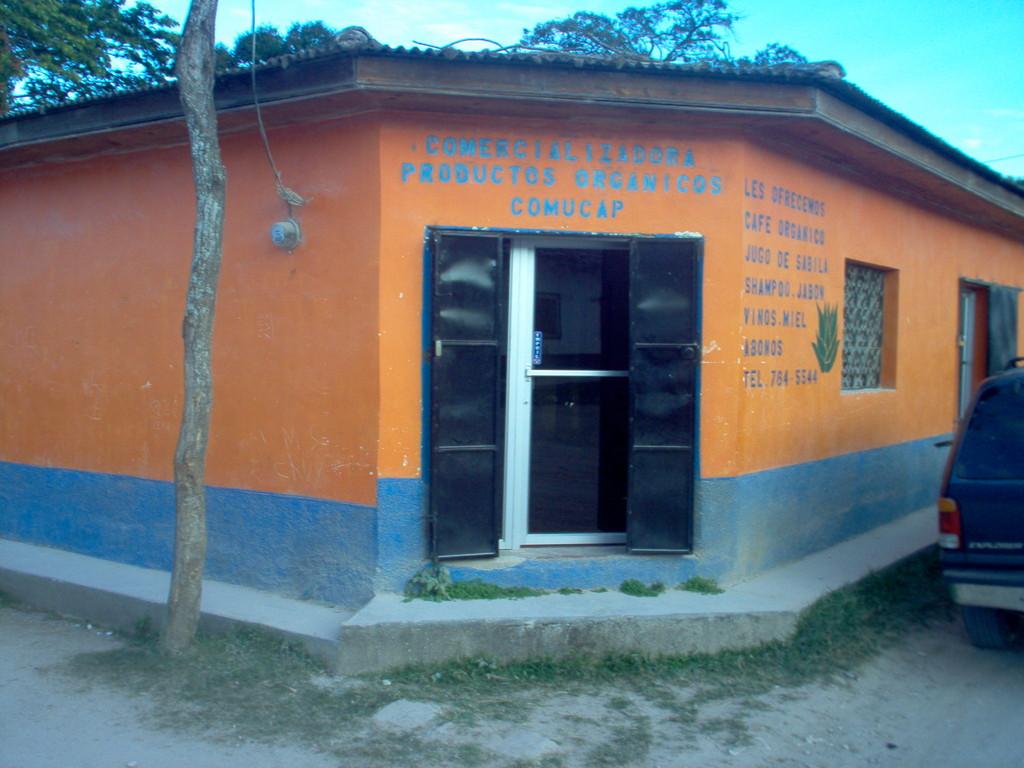 Laden und Büro von COMUCAP in Marcala