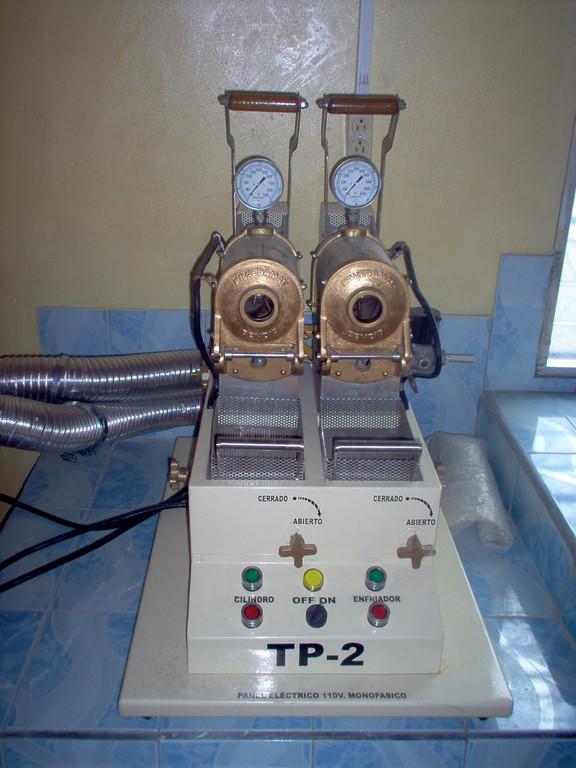 Teströster im Labor von COMUCAP