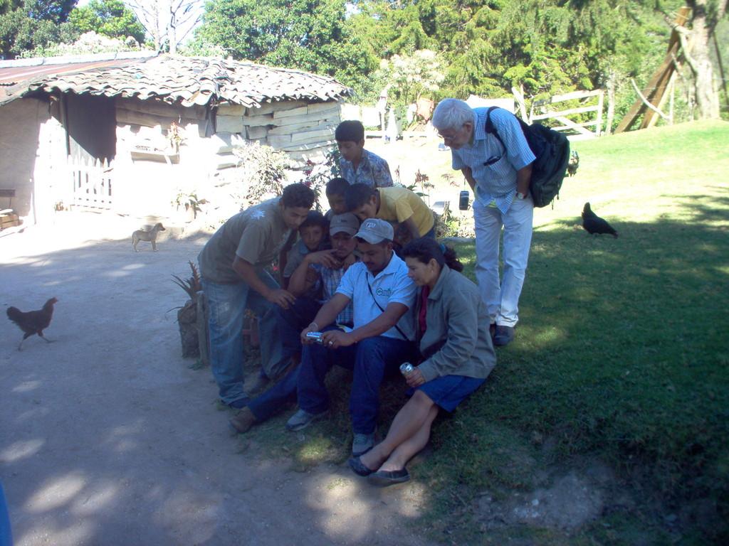 in El Mono bei Nahuaterique, Februar 2010