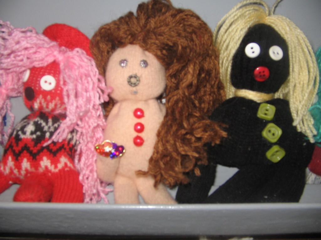 Lėlės iš pirštinių