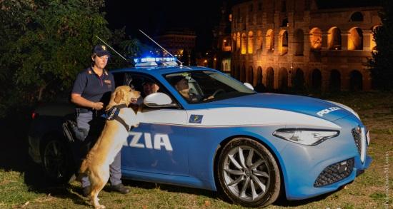 L'immagine della nostra Polizia di Stato che partecipa al concorso