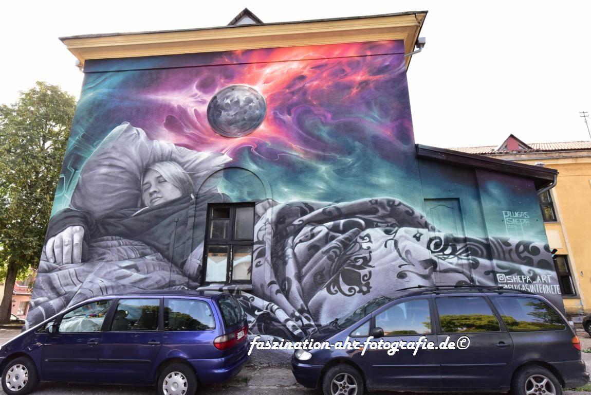 Grafitti im Künstlerviertel