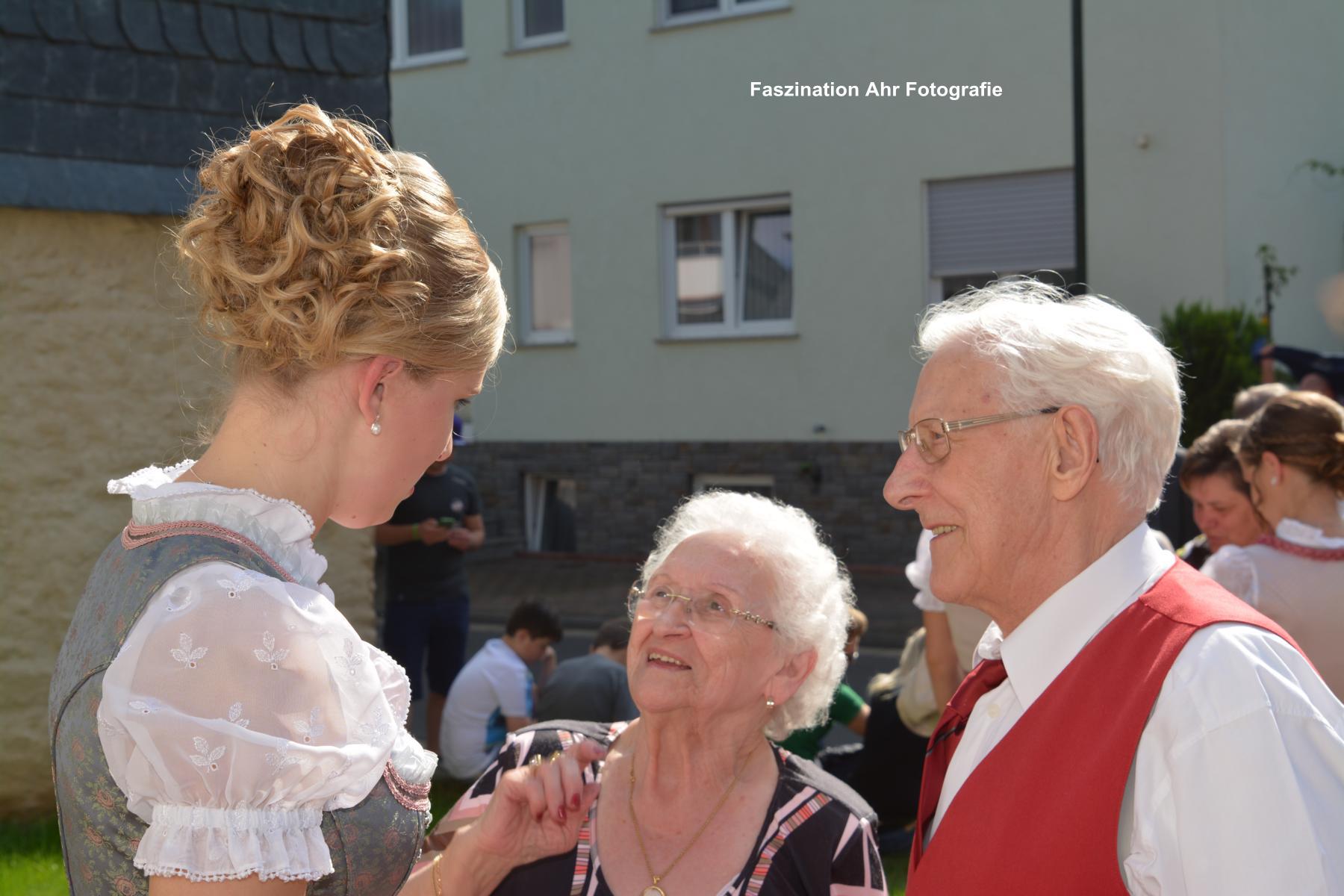 Dieses Paar kommt seit 53 Jahren zum Winzerfest nach Dernau!