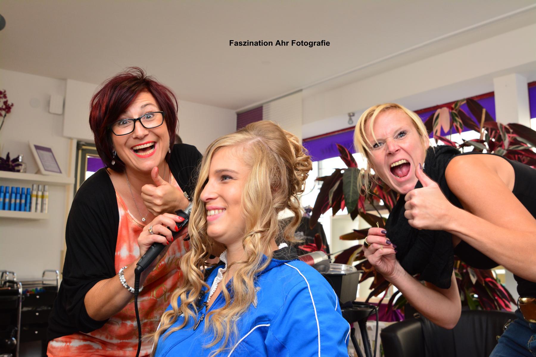 Das Haarstudio wurde von den Damen gerockt!