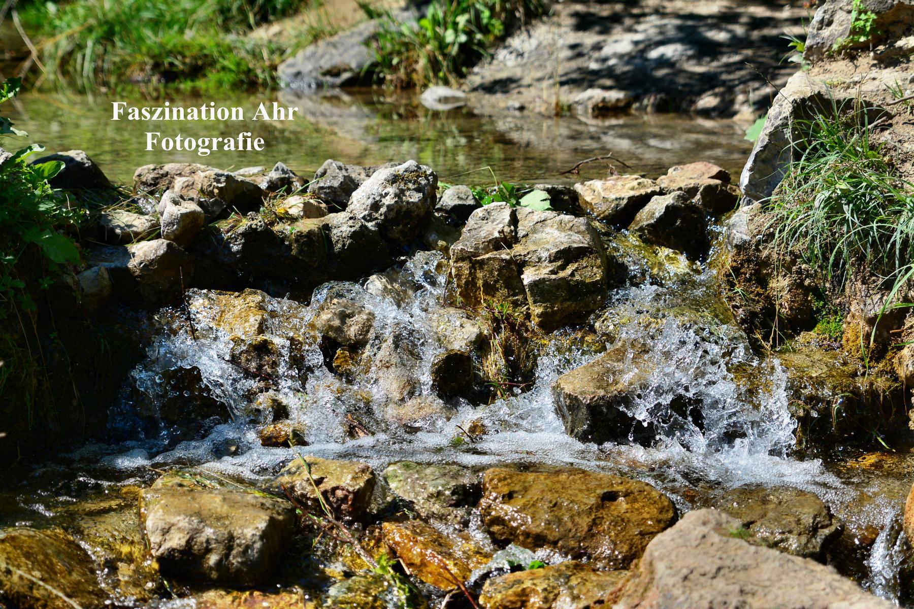 Nohner Wasserfall Zulauf 2