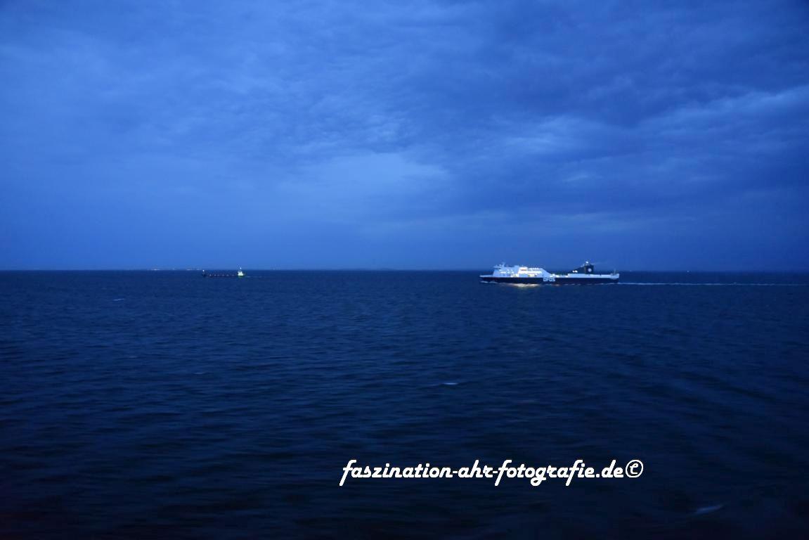 Man ist fast nie alleine auf der Ostsee